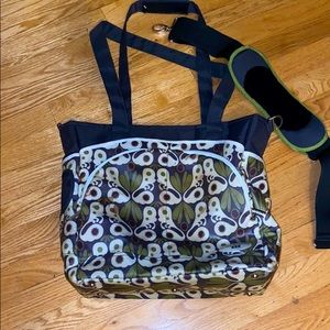 Beautiful JJ Cole collection diaper bag